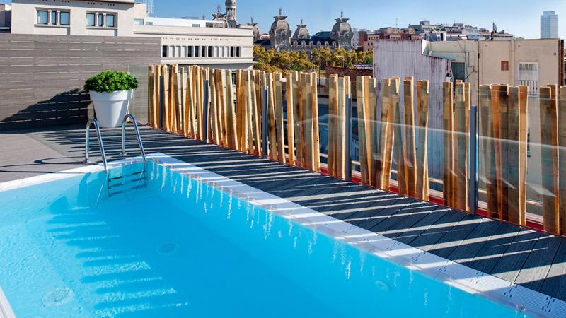 Catalonia born voyages destination for Appart hotel barcelone avec piscine