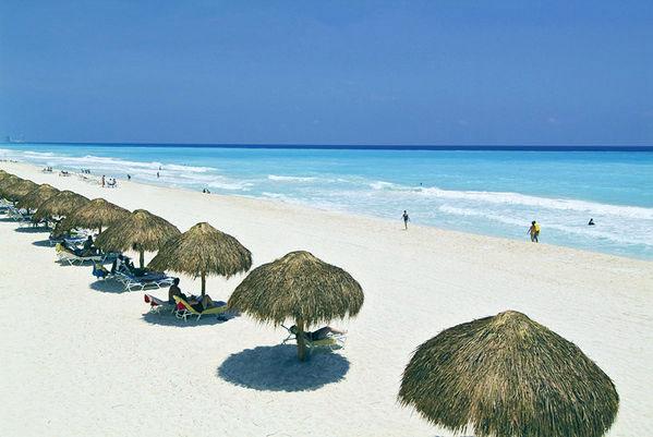 Gran Melia Cancun plage