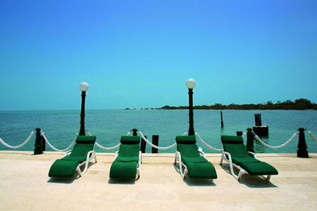 Decameron Isla Palma chaises de soleil