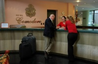 Comodoro reception