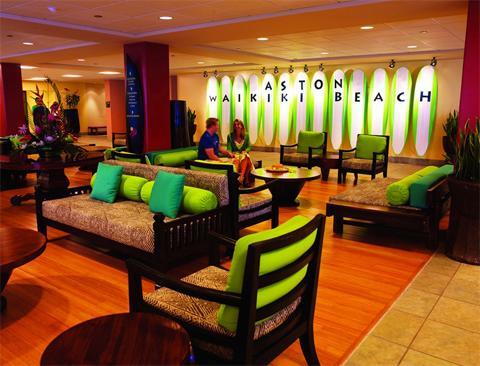 Aston Waikiki Beach intérieur