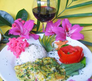 Morgan Cove Central cuisine