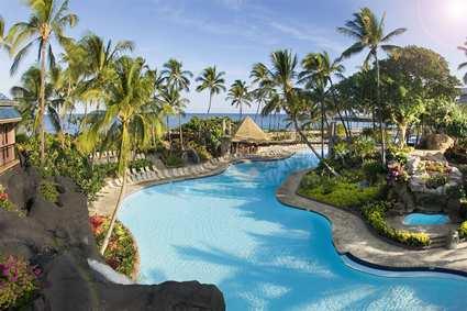 Hilton Waikoloa Village piscine