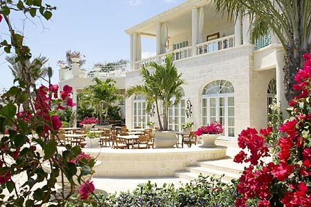 Regent Palms terrasse