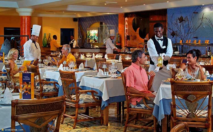 Iberostar Bavaro restaurant
