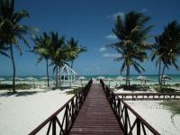 Brisas Santa Lucia boardwalk