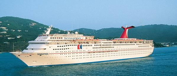 Carvival Sensation cheap cruise discount deals