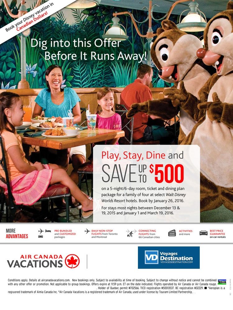 Play stay dine and save 500 at select walt disney world for Special hotels worldwide