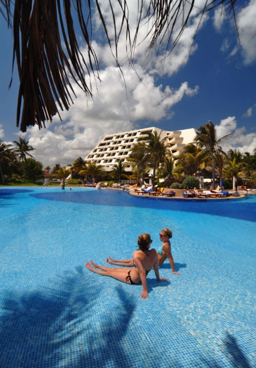 Grand Oasis Cancun plage