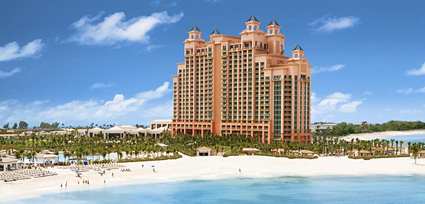 The Cove Atlantis exterior