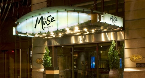 The Muse entrance