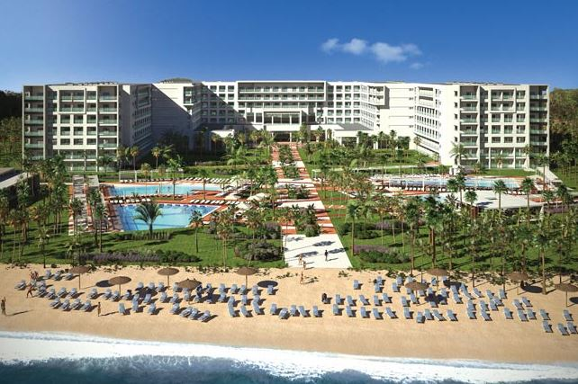 Riu Playa Blanca beach